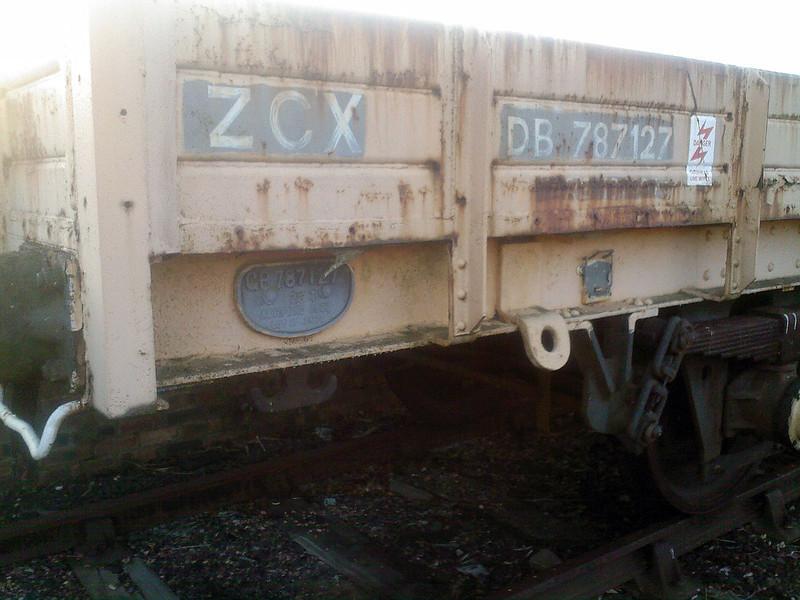 ZCX DB787127 Perth Yard 08/02/08.