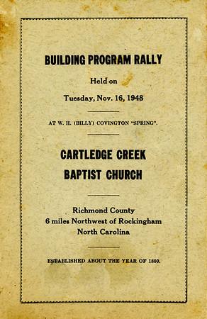 Building Program Rally 1948