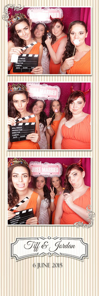 Tiff & Jordan's Wedding Photostrips