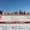 Cryo-Trans railcar #6075, Sidney Chaplin. at Gunderson.