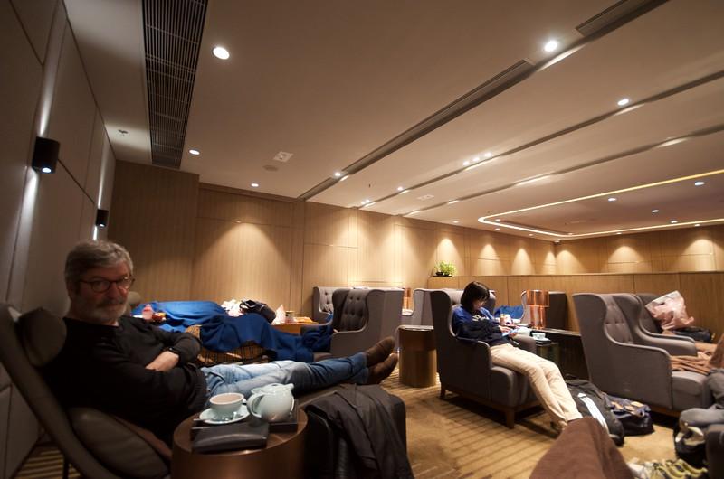 Lounge in Hong Kong - 2am