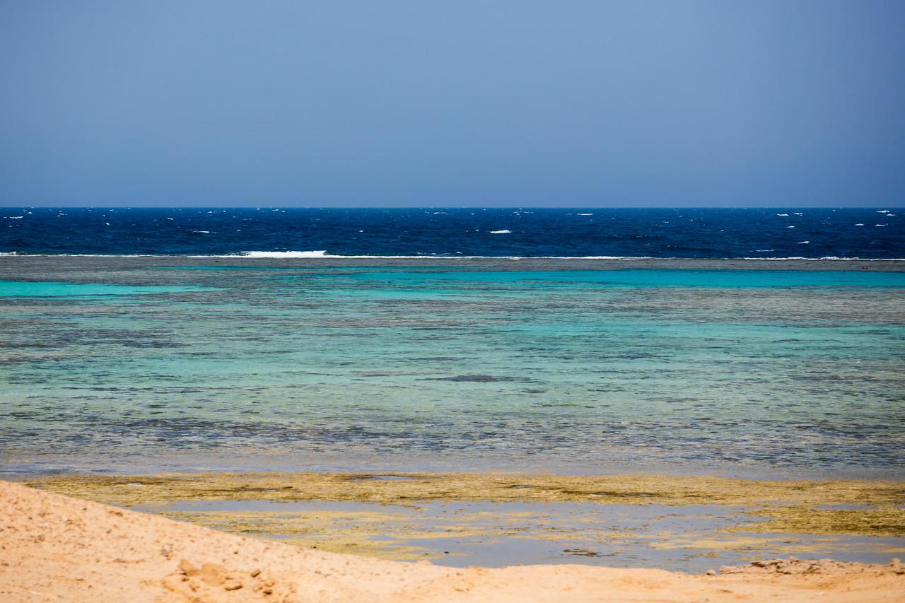 Egipt; Krajobraz; PrzezOknoAutobusu; Safari; pustynia; Wybrzeże Morza Czerwonego