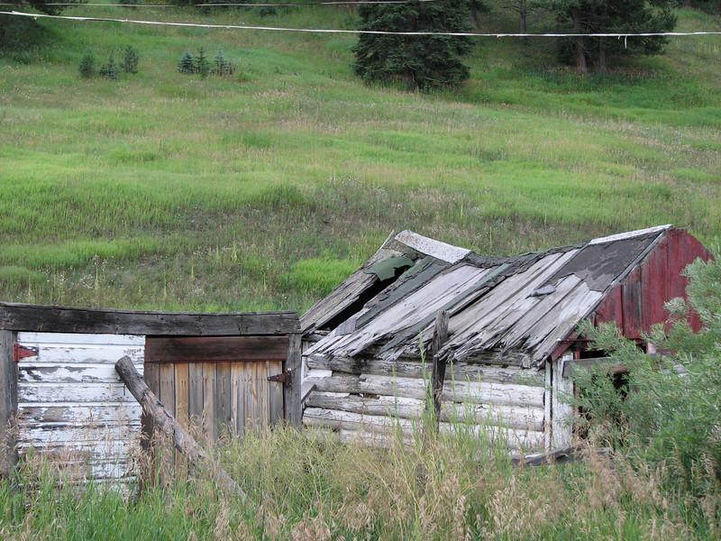 Old homestead near Evergreen Colorado