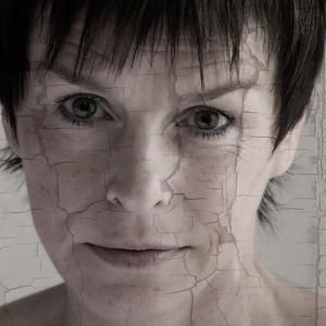 Self portrait exploring emotional stress