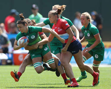 Ireland Women's at the Rugby World Cup Sevens 2018