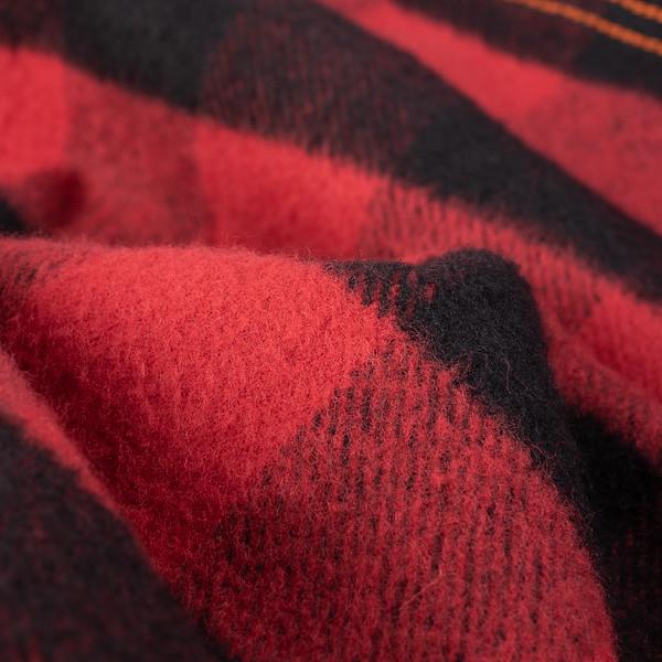 Ultra Heavy Flannel Buffalo Check Work Shirt - Red-Black-25536.jpg