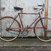 "$220 Raleigh Sports 3 spd #0040701  21"" frame, 26"" wheels."