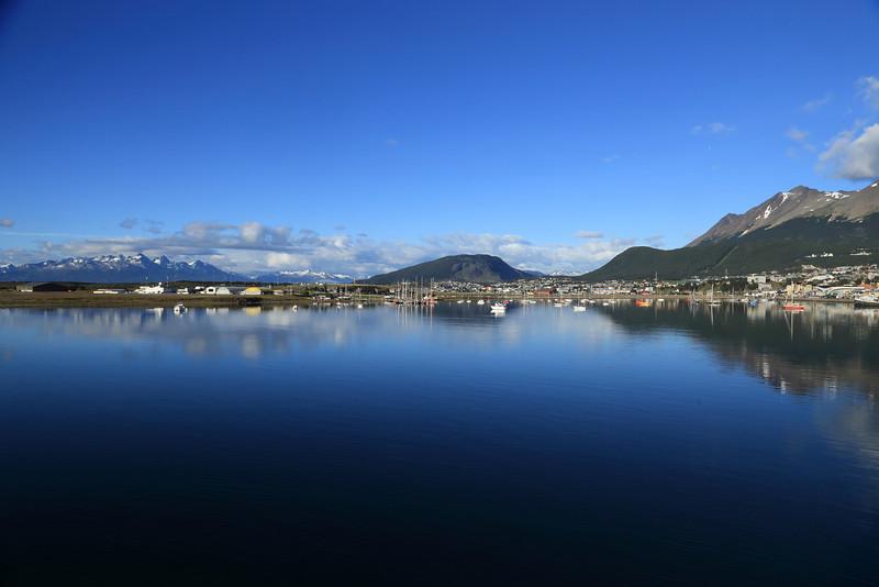 Beagle Channel approaching Ushuaia