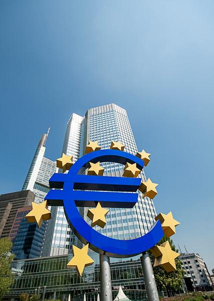 Euro Sign, Frankfurt Germany