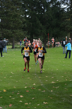 XC Regionals Girls D1 Grand Traverse Resort 1/2 Mile