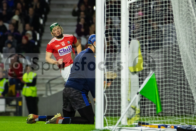 Cork's Robbie O'Flynn after scoring his sides first goal