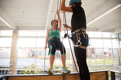 2014 Rappelling at the RPAC