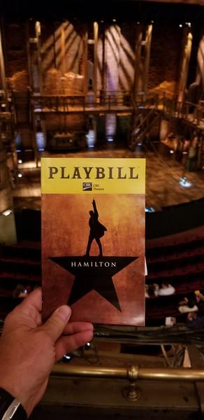 Chicago Hamilton 7/18/18
