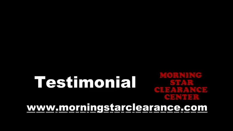 Morning Star Clearance Testimonial.avi