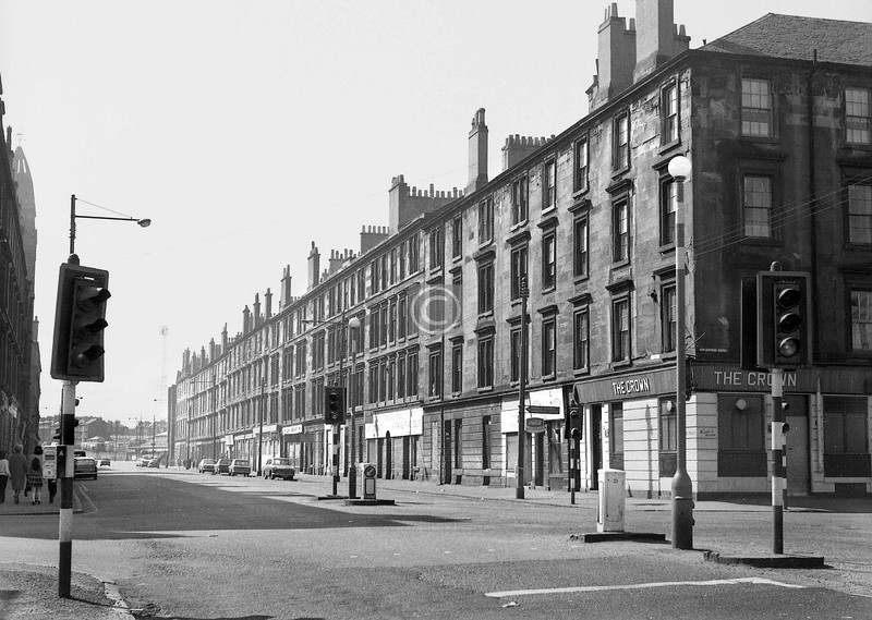 Crown St, west side, south of Caledonia Rd. 