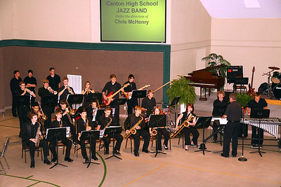 CHS Jazz Band at FUMC 5-5-11
