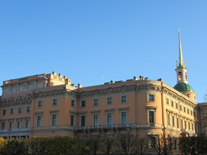 Mikhailovsky Castle in saint petersburg