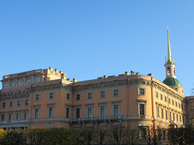 Mikhailovsky Castle in saint petersburg