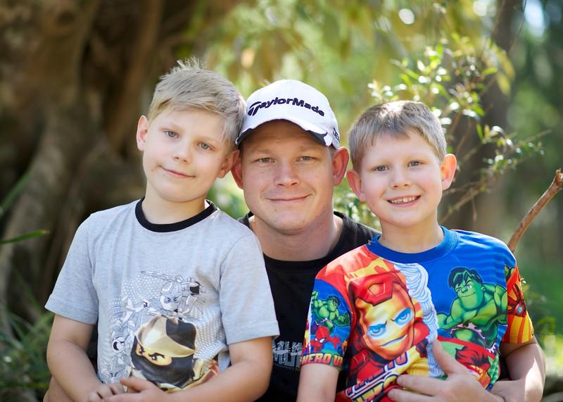 Isaac, Dad & Alex