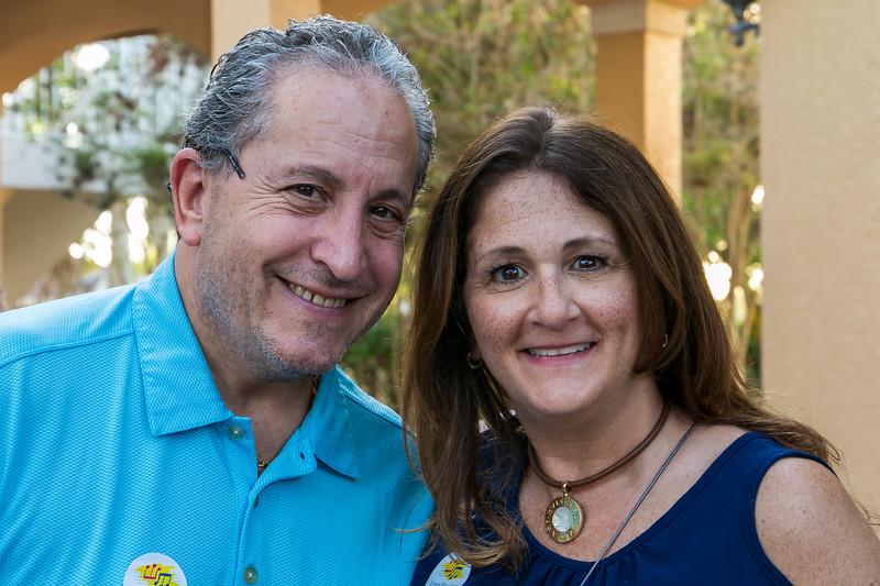 Mayor Daniel Stermer and Rose Sklar