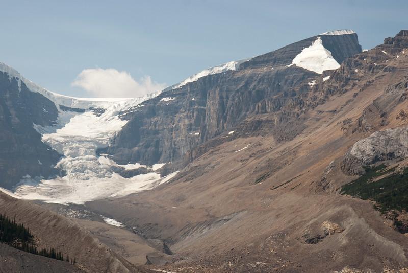 Mount Kitchener and Dome Glacier