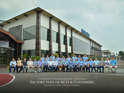 181210 | KUI Factory Visit of KCIS & Customers
