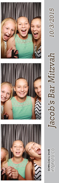 2015-10-03 Jacob's Bar Mitzvah - Classic Photo Booth