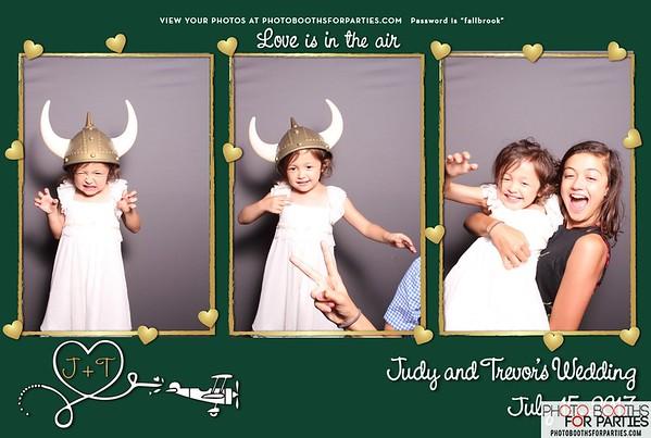 Judy & Trevor's Wedding
