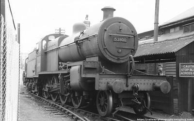 Fowler S&D 7F 2-8-0. B.R. era 53800-53805 Built Derby 1914