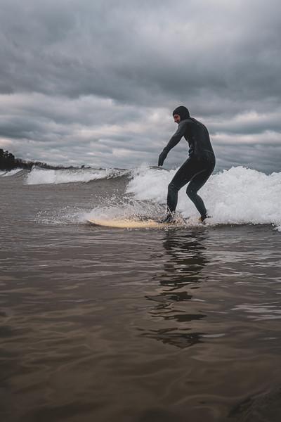 Marquette surf trip