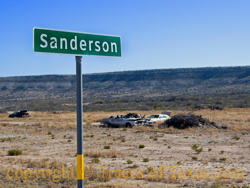Title:   Sanderson City Limits<br /> <br /> Comments:<br /> <br /> Location: Sanderson