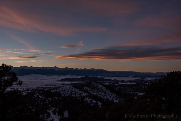 Sunsets January