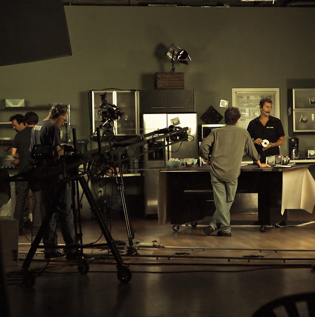 Studio shots of Eminem's Commercial