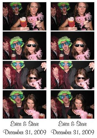 Erica and Stephen December 31, 2009
