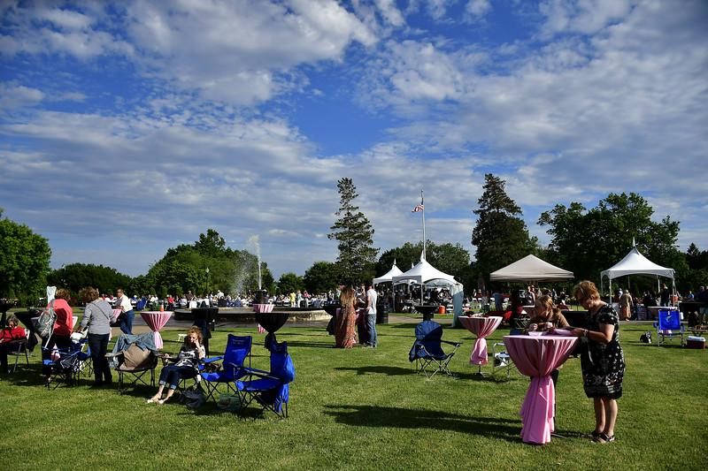 6/15/2019 Mike Orazzi | Staff The Rose Garden Festival in New Britain Saturday evening.