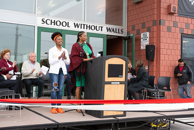 School Without Walls Ribbon Cutting