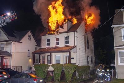 Madison Ave. Fire (Irvington, NJ) 9/27/20