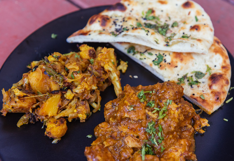 https://www.seriouseats.com/recipes/2011/08/grilled-naan-recipe.html http://www.ecurry.com/blog/indian/curries/gravies/chicken-kolhapuri/ http://www.ecurry.com/blog/indian/curries/dry/aloo-gobi-spiced-cauliflower-and-potatoes/