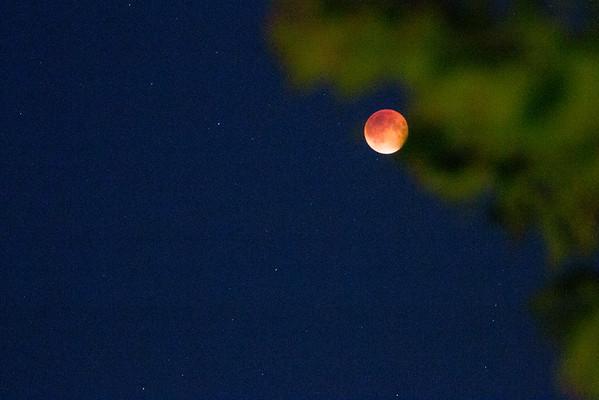 """""""Blood Moon"""" Lunar Eclipse, September 27, 2015"""