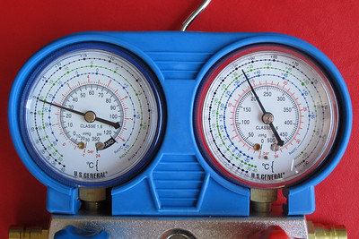 Air Conditioning Gauge Indications & Graphs