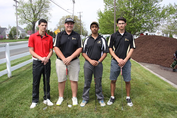 April 27, 2017 MTHS Golf Team at Forsgate CC