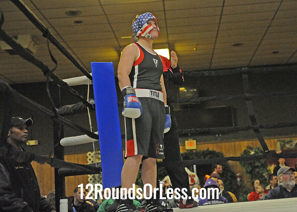 Rick Lopez (Fremont Wreckers) vs Nick Young (Monroe)  Novice Division  Bout #8