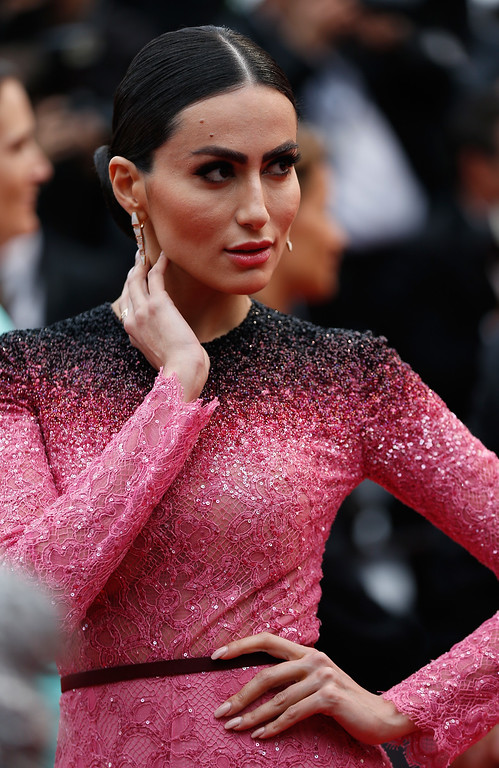 ". Diala Makki attends the ""Slack Bay (Ma Loute)\"" premiere during the 69th annual Cannes Film Festival at the Palais des Festivals on May 13, 2016 in Cannes, France.  (Photo by Tristan Fewings/Getty Images)"