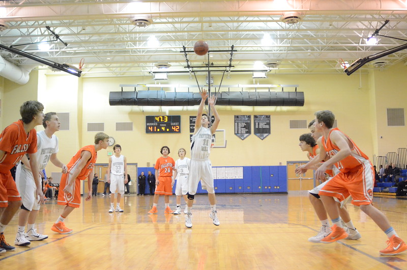 JV Boys Basketball Dec 18 vs Fallston