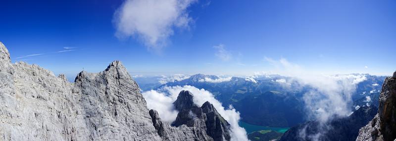 The Watzmann ridge