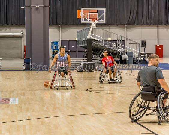 Warrior Games - Wheelchair Basketball