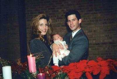 12-20-1998 Tyler James Osha Baptism @ Indy & Fishers, IN