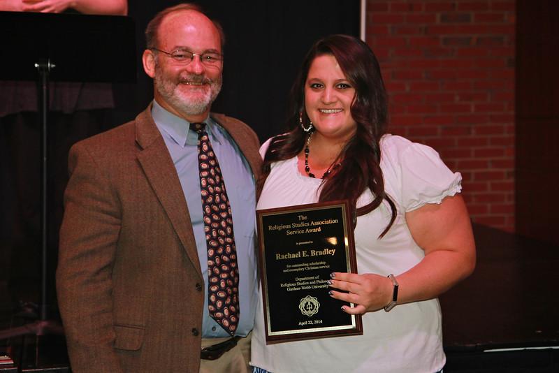 Religious Studies Association Service Award: Rachael Bradley