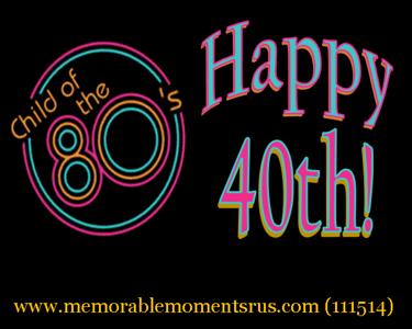 Surprise 40th Birthday