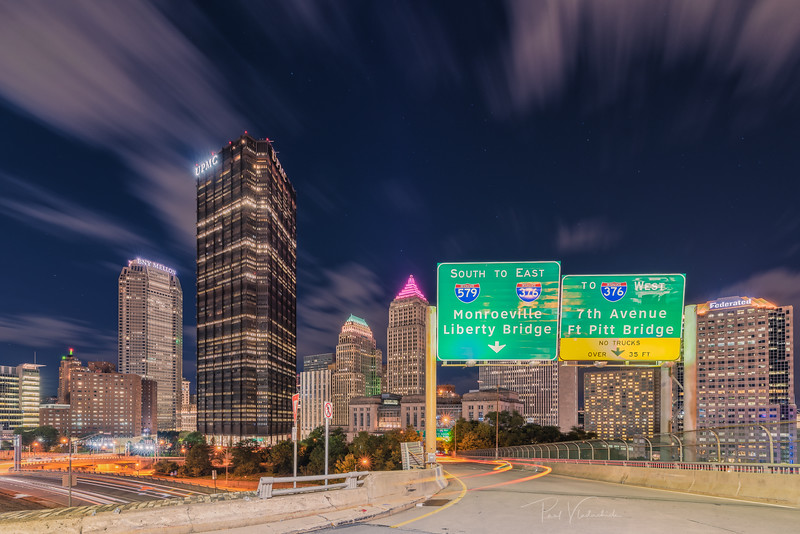Highway Entrance - Pittsburgh Pennsylvania
